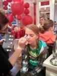 Alexis doing A'smakeup