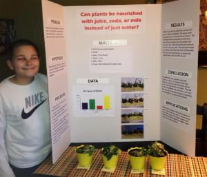 Joey's friend's project