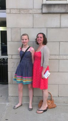Andi's graduation
