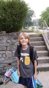 first day of school joey