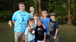Histio Hike Ohio 2013 - Histio Warriors and their siblings