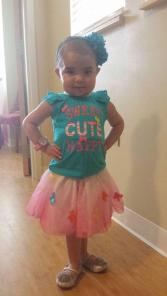 Princess Sophia - 4-1/2-years-old, has HLH and lives at the Ronald McDonald House, thousands of miles from home for treatment.
