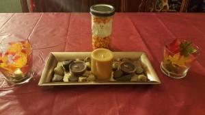 Fall Lantern, Ghost Jar, Candle Platter