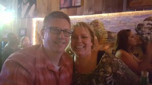 Amy and Jeff at Whiskey Bent Saloon