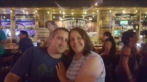 Us at Whiskey Bent Saloon